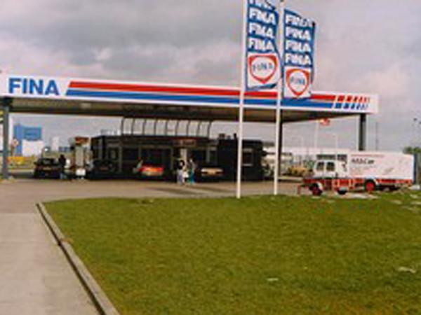 1e tankstation Fina Vos 1993